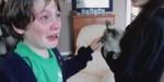 DEČIJA LJUBAV JE NAJISKRENIJA: Dečaci u suzama nakon što im se vratila izgubljena maca! (VIDEO)