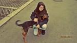 HAPPY END: Jana ponovo u zagrljaju svog psa Foksa!