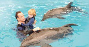 sa delfinima pomaže deci oboleloj od autizma petface