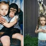 MAGIJA POSTOJI: Mama već 13 godina fotografiše ćerku, koja odrasta uz životinje!