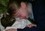 macka i devojcica petface