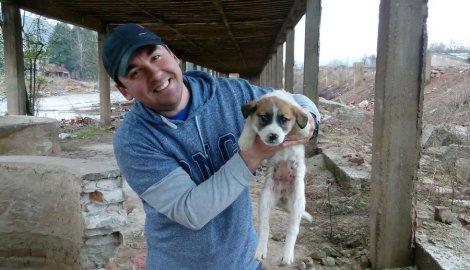 covek spasava psa iz bunara petface