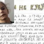 DETE ZA PRIMER: Marija (11) iz Beograda crta plakate, lepi ih i promoviše udomljavanje životinja!