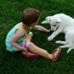 """LJUBAV U NAJTEŽIM MOMENTIMA: Devojčica bez nogu udomila štene bez noge – """"On je kao ja""""!"""