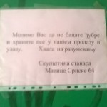 "Aleksandar iz Mirijeva: ""Sačekalo me je obaveštenje – Ne hranite pse!"""