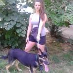 Saška (16) iz Beograda od džeparca brine o napuštenom psu Reksu!