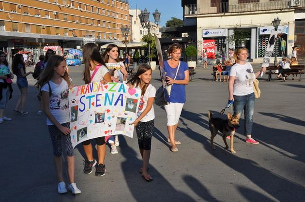 "protest ""Danas Sten - sutra ja"" petface"
