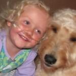 RASPLAKALI MILIONE: Da nema psa Gospodin Gibsa, Alida (6) ne bi mogla da diše!