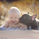 NERASKIDIVO PRIJATELJSTVO: beba i pas koji su rođeni istog dana