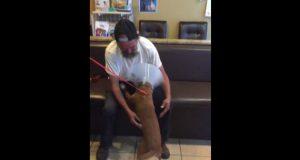 Beskućnik i pas petface