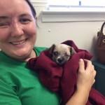 Marija je pre 3 meseca ostala bez oka. Danas je udomila psa bez oka!
