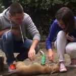 MALA DECA, VELIKI LJUDI: Učenici iz Niša, sakupili novac i spasili život štenetu sa slomljenim nogama! (VIDEO)
