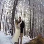 """VIDEO: """"Angažovali"""" psa da im snimi venčanje. Rezultat: 2 miliona pregleda!"""