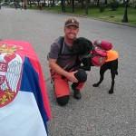 HODAJU ZA ŽIVOT: Irac i njegov labrador u misiji pomoći srpskoj deci oboleloj od kancera!