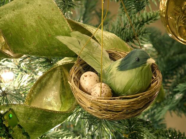 legenda o ptičici, Božiću i božićnom drvetu