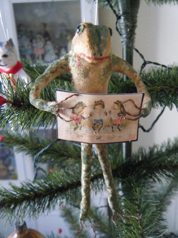 novogodišnji ukrasi u obliku životinja petface