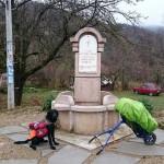 LESKOVAC: Sa psom prešao preko 1500 km kako bi sakupio novac za bolesnu decu Srbije