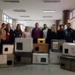 UGLEDAJMO SE NA NJIH: Pančevci napravili JOŠ 11 kućica za napuštene životinje!