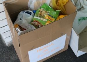 250kg hrane za napuštene petface