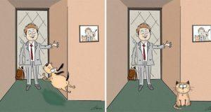 razlika između pasa i mačaka petface