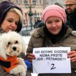 STOP PETARDAMA: I Pančevci protestvovali zbog upotrebe petardi! (FOTO)
