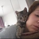 DIVNOO: Napuštena maca SAMA izabrala vlasnicu Kristinu i poverila joj brigu o svojih 6 beba!