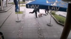 Snimak nasilnog hvatanja petface