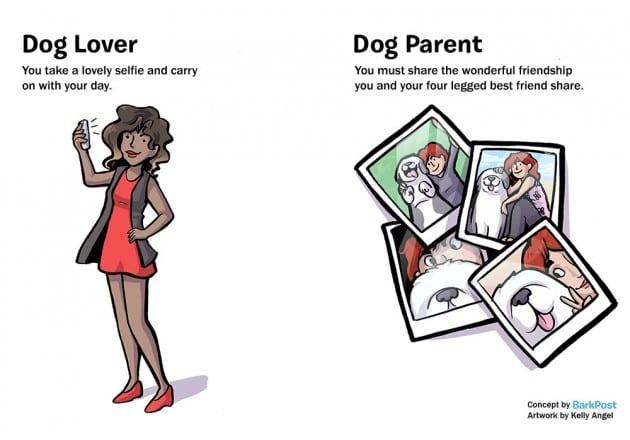 razlika između vlasnika i ljubitelja pasa petface