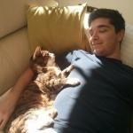 Mačak Mogli i njegov vlasnik najbolji su prijatelji već 21 godinu!