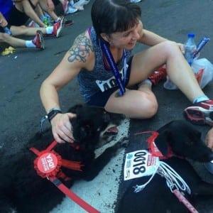 Na maratonu petface