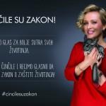 """Pevačica Vanna i poznati u kampanji """"Činčile su zakon""""!"""