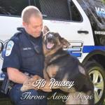 Rozi, nemački ovčar spašena je sa ulice i postala je policijski pas!