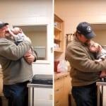 VIDEO: Štene pit bula skače od sreće kad shvati da se njegov spasilac vratio da ga udomi!