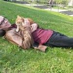 Ova mačka je maskota jednog univerzitetskog kampa  i to zbog jedne stvari – MAŽENJA!