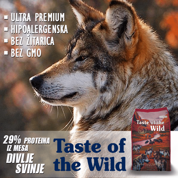 pravilna ishrana taste of the wild  petface