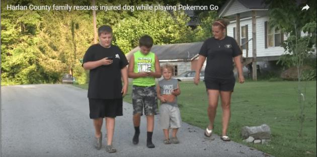 igrajući Pokemone petface