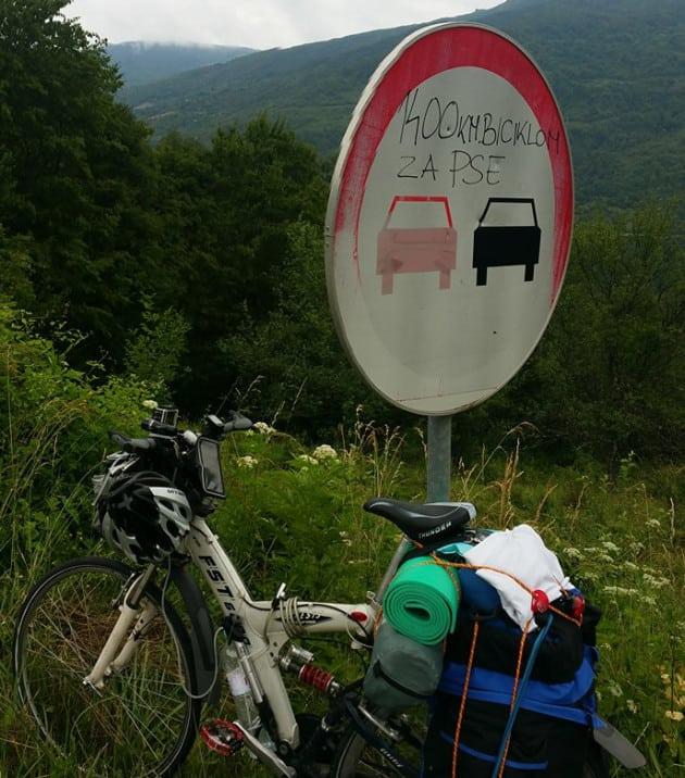 bicikl za napuštene petface