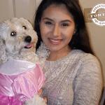 Vlasnica iznenađena jer su njena dva bela psa dobila crne štence