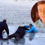 Ovo je gospodin Toza (62), koji je uskočio u ledeni Dunav i spasio psa Medu!