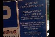 1.000 dinara petface