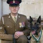 Belgijski ovčar britanske vojske nagrađen za hrabrost!
