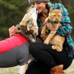 AVANTURISTI: Mačak, pas i vlasnica UŽIVAJU u pustolovinama!