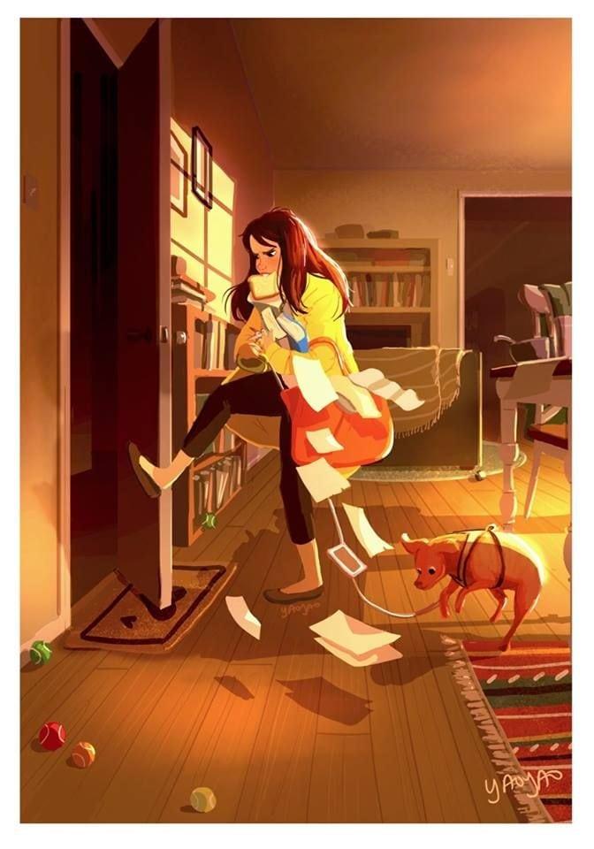 SVI MI KOJI IMAMO PSE: Nikada nismo SAMI, a ove ilustracije to i DOKAZUJU!