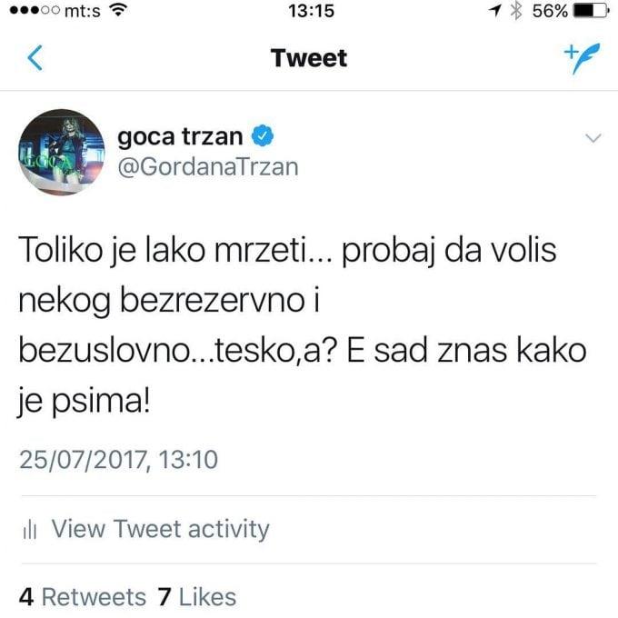 GOCA TRŽAN petface