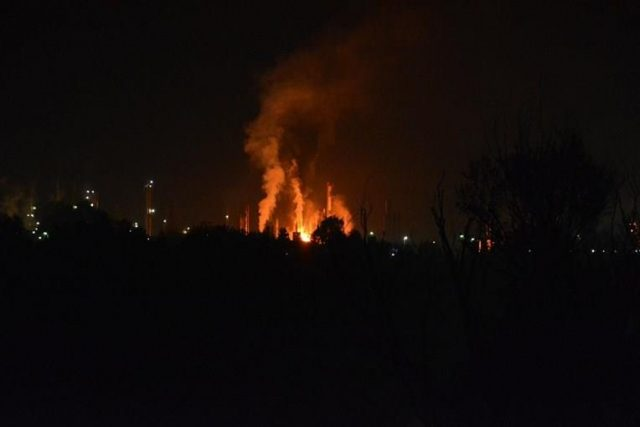 eksplodirala rafinerija petface