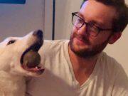 coveka i udomljenog psa petface