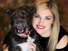 vlasnica i njen nestali pas petface